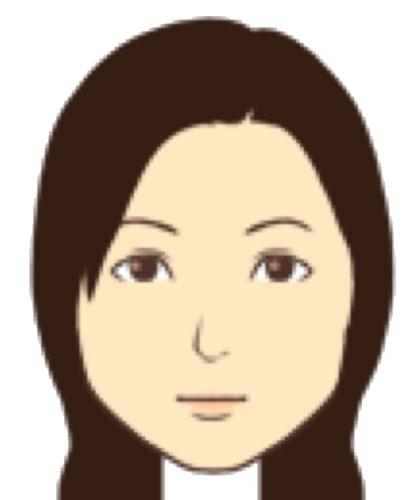 松井 光里のイラスト